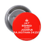 [Crown] jat' bishnoi chadi jodhpur rajasthan-342312  Buttons