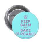 [Cupcake] keep calm and bake cupcakes  Buttons