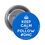 [Crown] keep calm and follow #dhc  Buttons