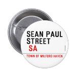 Sean paul STREET   Buttons