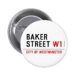baker street  Buttons