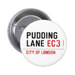 PUDDING LANE  Buttons