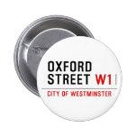 oxford street  Buttons