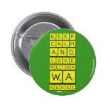 keep calm and love Retha wa Bongz  Buttons