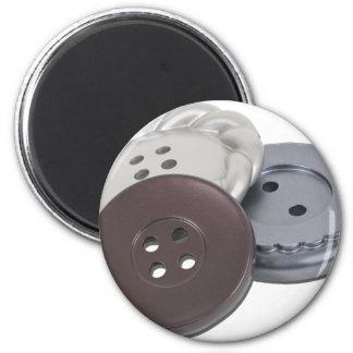Buttons011011 Imán Redondo 5 Cm
