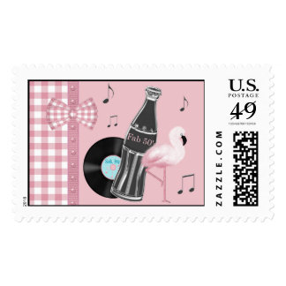 Buttons and Bows Rock & Roll Postage