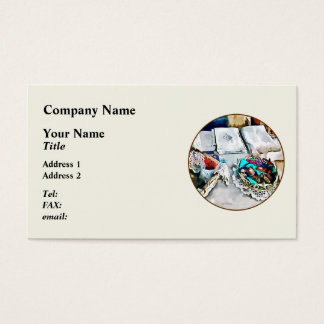 Buttons and Lace Business Card