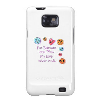 Buttons And Pins Samsung Galaxy SII Case