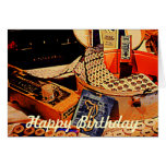 Buttons and Snaps - Birthday Greeting Cards