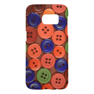 Buttons Art Samsung Galaxy S7, Barely There