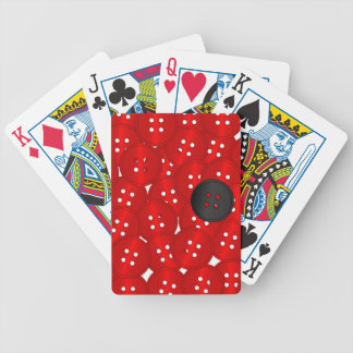 Buttons Bicycle Playing Cards