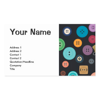 Buttons Double-Sided Standard Business Cards (Pack Of 100)
