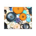 Buttons Buttons Buttons Canvas Print