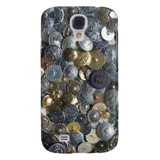 Buttons collection samsung s4 case