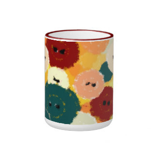 Buttons Crafters Mug