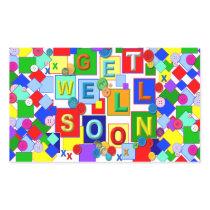 BUTTONS ~ Get Well Sticker # 2