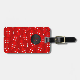 Buttons Luggage Tag