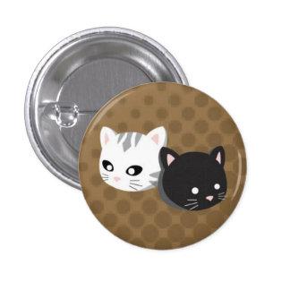 Buttons & Ninji Brown Button