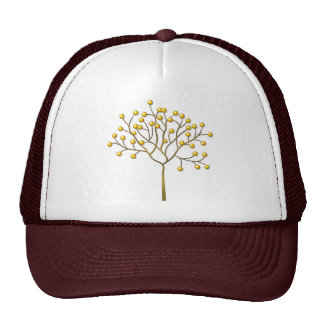 Buttons On Tree Trucker Hat
