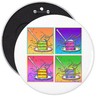 Buttons, Pins - Pop Art Cake