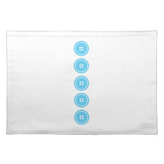 Buttons Cloth Placemat