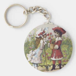 Button's Raven Gloss Shoe Dressing Keychain