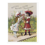Button's Raven Gloss Shoe Dressing Post Card