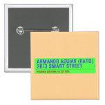 armando aguiar (Rato)  2013 smart street  Buttons (square)