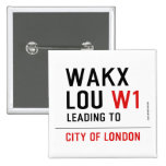 WAKX LOU  Buttons (square)