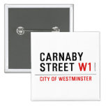 carnaby street  Buttons (square)