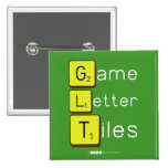 Game Letter Tiles  Buttons (square)
