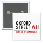 oxford street  Buttons (square)