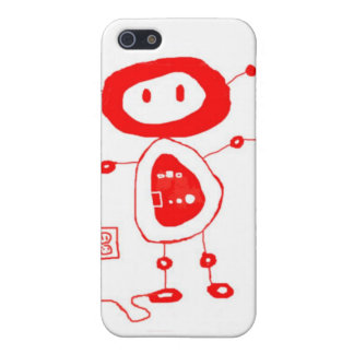 Buttons the robot iPhone SE/5/5s case