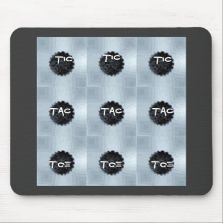 buttons, Tic, Tac, Toe, Tic, Tic, Toe, Toe, Tac... Mouse Pads