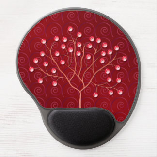 Buttons Tree Gel Mouse Pads