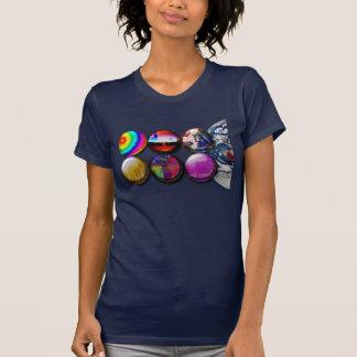 Buttons World View Apparel T Shirt