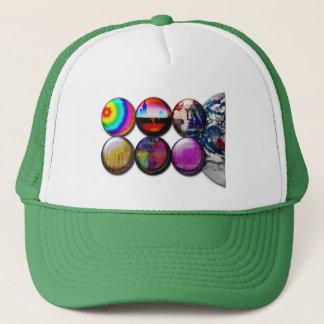 Buttons World View Cap