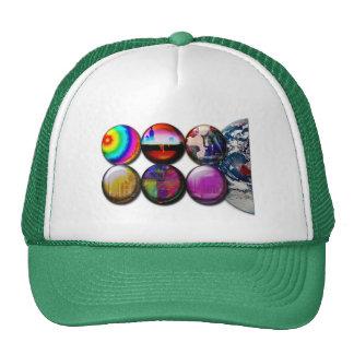 Buttons World View Cap Trucker Hat