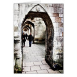 Buttresses of Winchester Cathedral Greeting Card