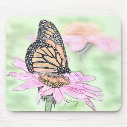 Buttrfly Garden 8 Mouse Pad