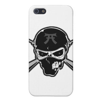 Buttstock Skull & Crossed Rifles iPhone SE/5/5s Cover