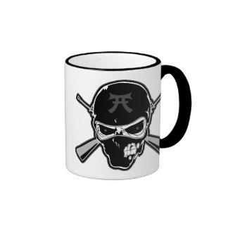 Buttstock Skull & Crossed Rifles Mug