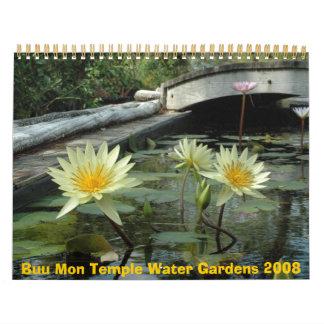 Buu Mon Temple Water Gardens Calendar 2008