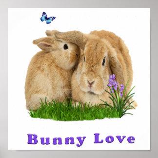buuny love poster