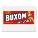 Buxom Melons Card