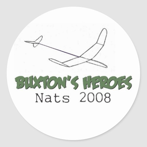 Buxton's Heroes - 2008 Sticker