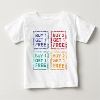 Buy 1 Get 1 Free Stamp Buy 2 Get 1 Free Baby T-Shirt