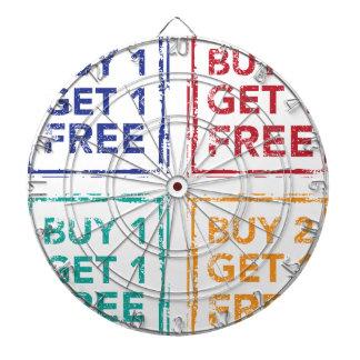 Buy 1 Get 1 Free Stamp Buy 2 Get 1 Free Dartboards