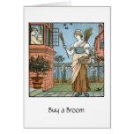 Buy a Broom, Greeting Card