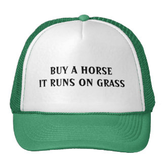 BUY A HORSE - hat